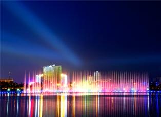 汉中一江两岸